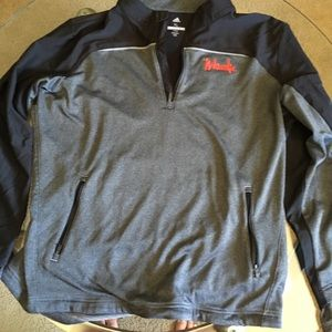 Adidas Nebraska Golf Jacket Men's XL